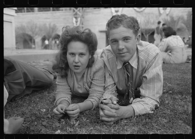 Young people at the Imperial County Fair, California