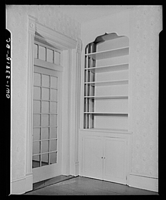A federal emergency housing project apartment, converted from a tenement