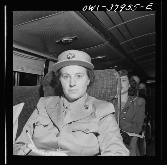 A Greyhound bus trip from Louisville, Kentucky, to Memphis, Tennessee, and the terminals. Private Gayle Boshart returning to Fort Oglethorpe, Georgia after having been home to Stantonville, Tennessee on furlough. Greyhound enroute Memphis to Chattanooga