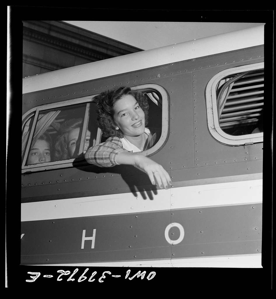 A Greyhound bus trip from Louisville, Kentucky, to Memphis, Tennessee, and the terminals. This girl commutes daily to Memphis where she goes to school