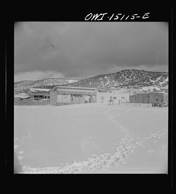 A Spanish-American village in the foothills of the Sangre de Cristo Mountains dating back to 1700 which was once a sheep-raising center. Due to overgrazing and loss of range title, its inhabitants now work as migratory labor and at subsistence farming