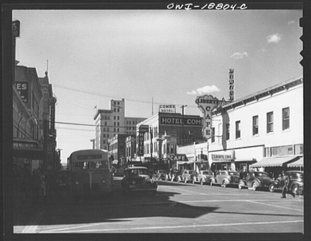 Albuquerque, New Mexico. The main street
