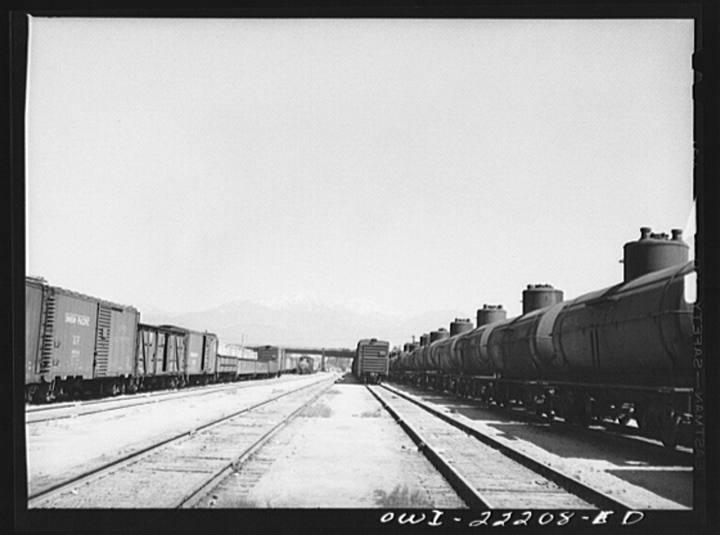 Atchison, Topeka and Santa Fe Railroad yard