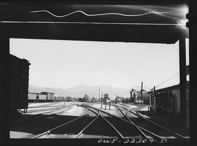 Atchison, Topeka and Santa Fe Railroad yard