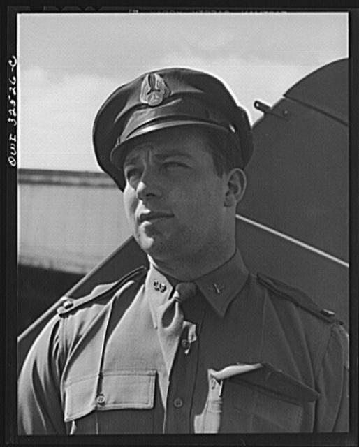 Bar Harbor, Maine. Civil Air Patrol base headquarters of coastal patrol no. 20. A pilot
