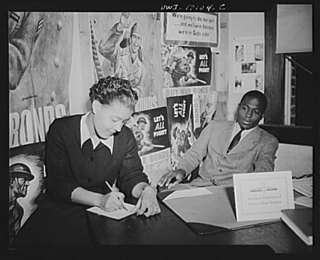 Daytona Beach, Florida. Bethune-Cookman College. Office of the American Federation of Negro College Students