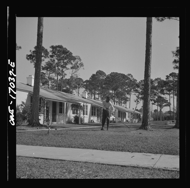Daytona Beach, Florida. Low rent housing projects for Negroes near Bethune-Cookman College