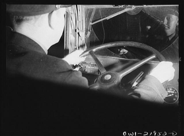Earl Callam, truck driver, enroute to Atlanta