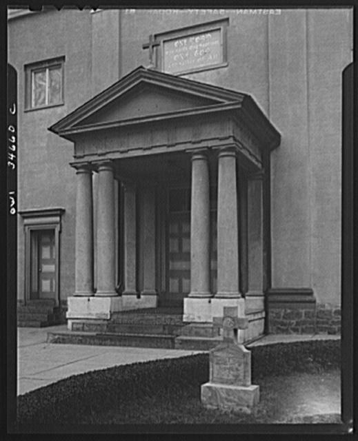 Emmitsburg, Maryland. Catholic church