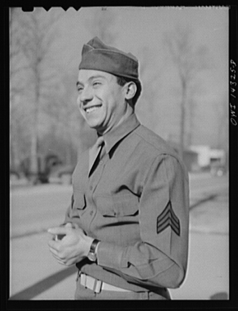 Fort Belvoir, Virginia. Sergeant Dan Tauro, of Passaic, New Jersey