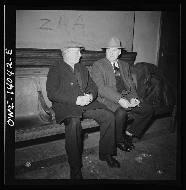 Freight train operations on the Chicago and Northwestern Railroad between Chicago and Clinton, Iowa. There is not much to do when the men arrive in Clinton. Clarence Averill and Engineer Johnson spend some time hanging out at the recreation room in the depot frequented by many railroad workers