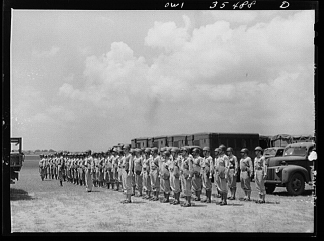 Greenville, South Carolina. Air Service Command. The 1756th ordnance, supply and maintenance company of the 25th service group