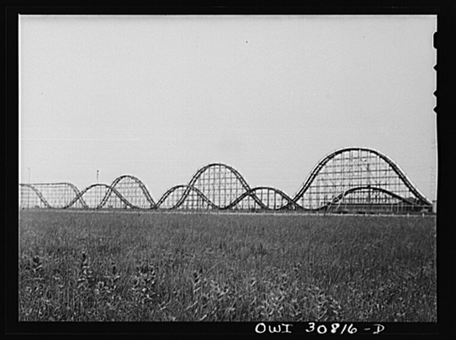 Houston, Texas. Roller coaster