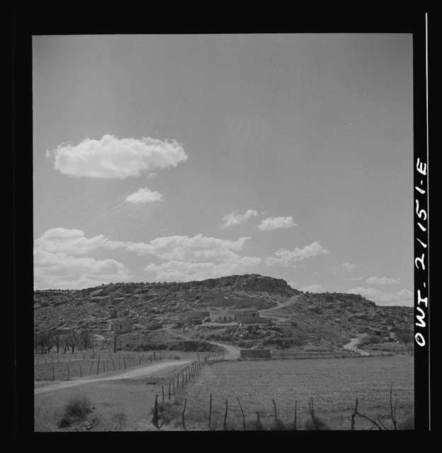 Laguna (vicinity), New Mexico. An Indian reservation along the Atchison, Topeka and Santa Fe Railroad between Belen and Gallup, New Mexico