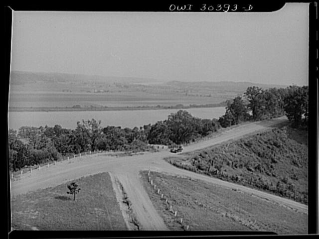 Land around Gallipolis, Ohio