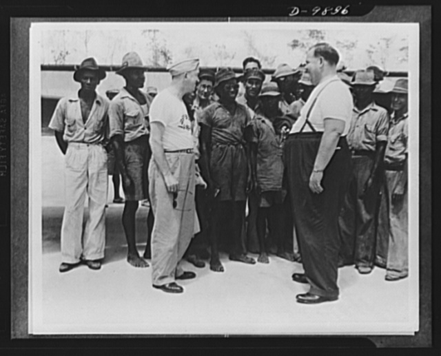 "Laurel and Hardy were in the first United Service Organization (USO) ""Flying Showboat"" to tour Caribbean bases"
