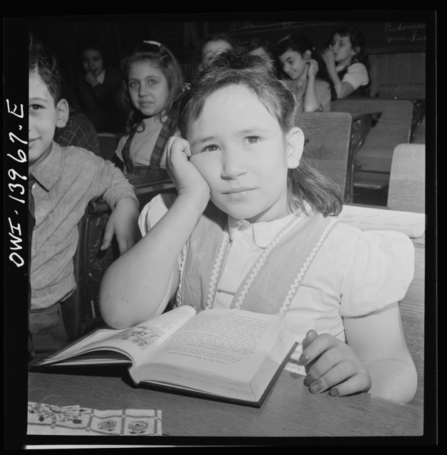 New York, New York. Pupil at Public School Eight