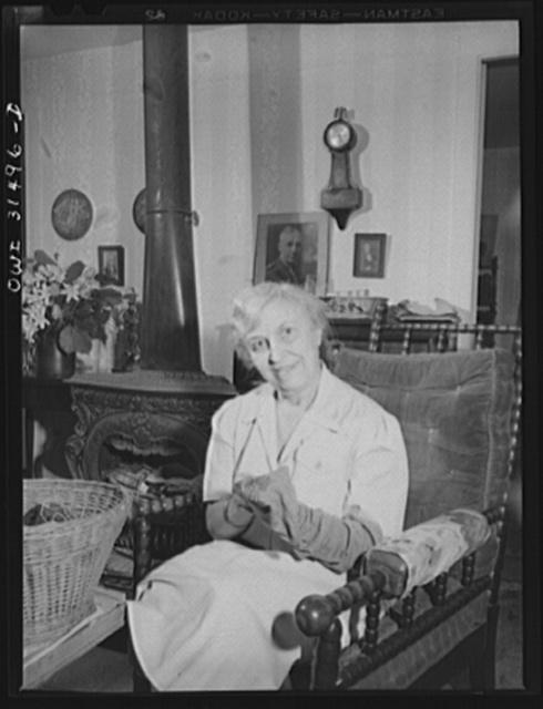Oswego, New York. Mrs. Samuel M.F. Peter, President of the Women's City Club