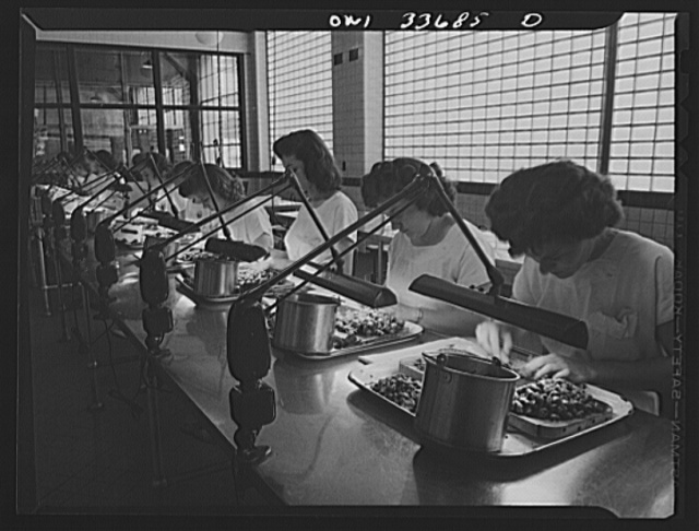 Parke, Davis and Company, manufacturing chemists, Detroit, Michigan. Dissecting animal glands