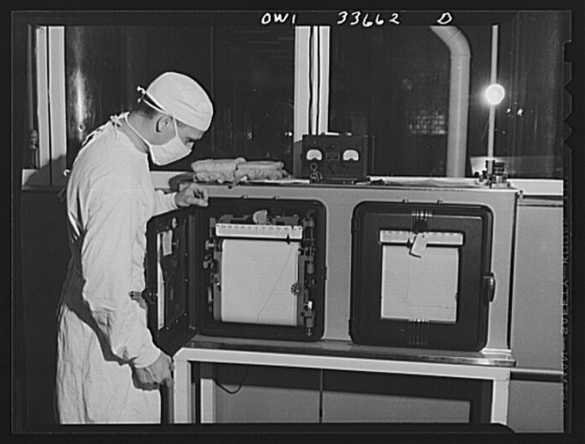 Parke, Davis and Company, manufacturing chemists, Detroit, Michigan. Recording apparatus used in the manufacture of blood plasma