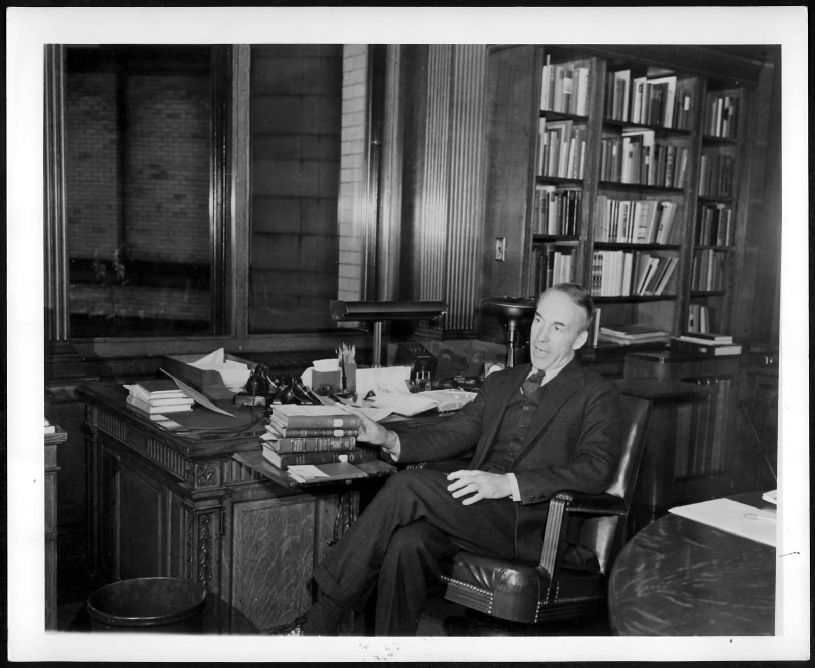 Photograph of Archibald MacLeish, 1943