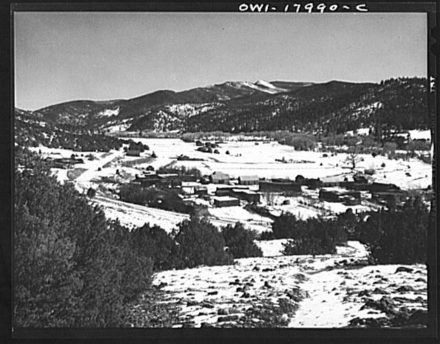 Placitas, New Mexico. On the Rio Pueblo