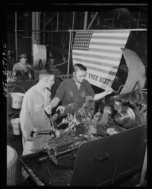 Rochester, New York. Mr. Babcock explaining an operation to one of the men whom he supervises at the plant