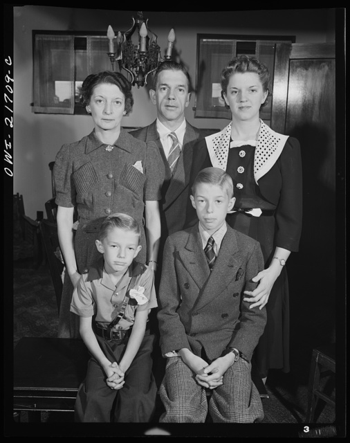 Rochester, New York. The Babcocks, an American family
