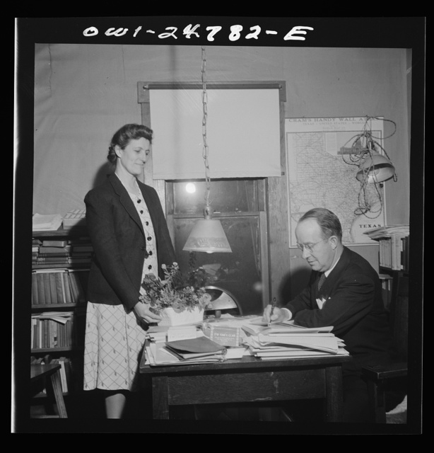 San Augustine, Texas. Reverend Marsh Calloway and wife