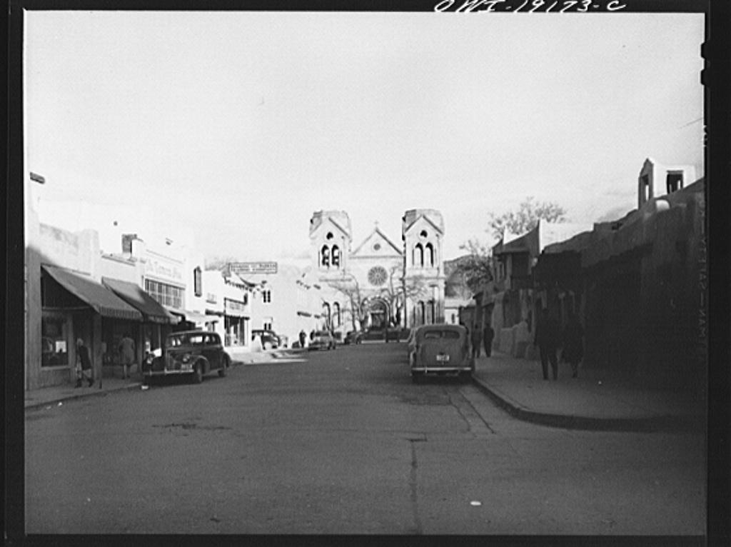 Santa Fe, New Mexico. Catholic catherdal