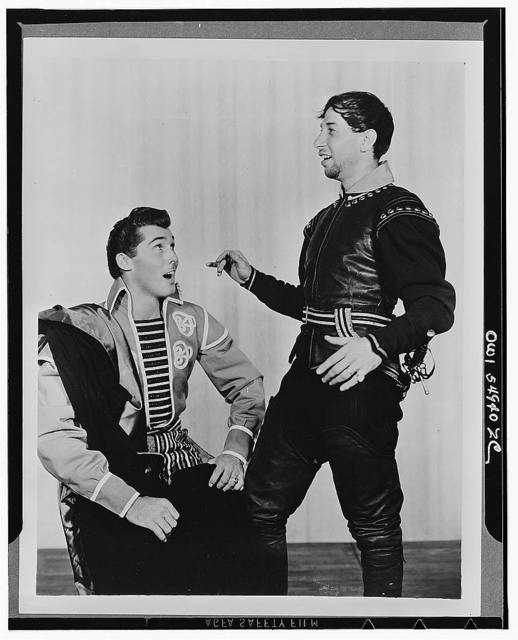 """[Scene from """"Othello,"""" Theatre Guild Production, Broadway, 1943-44]"""