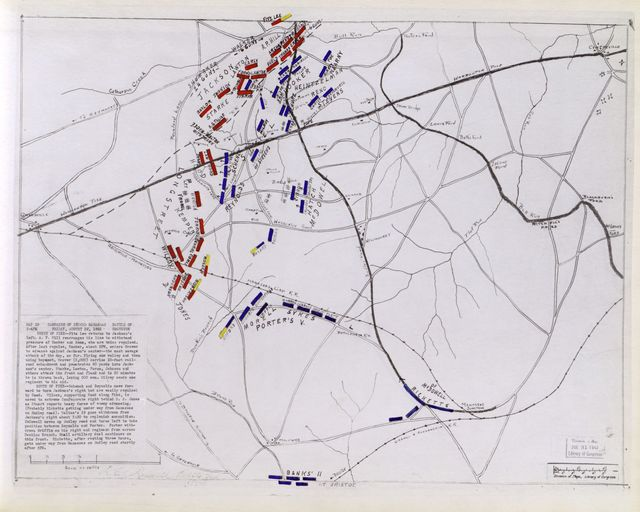 Second Manassas Campaign : a series of 21 pen and ink maps showing details of battles of Gainesville, Groveton, Second Manassas, and Chantilly (August 28-September 1, 1862) /