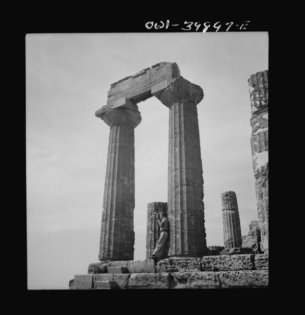 Syracuse (vicinity), Sicily. Roman ruins