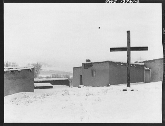 Taos, New Mexico. The Church of the Penitente Miranda