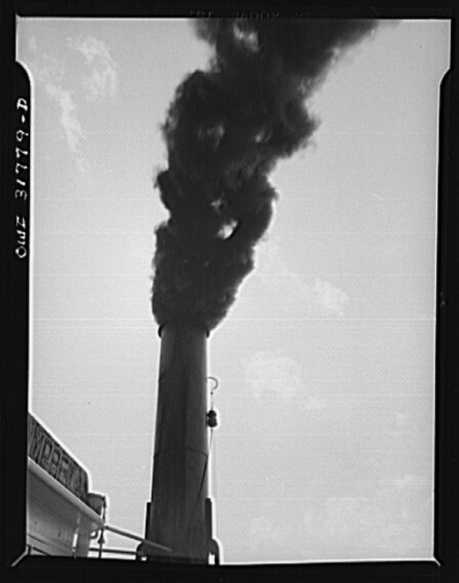 The smokestack of the Charles T. Campbell