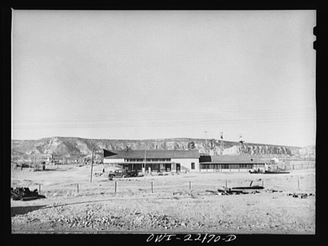 Thoreau, New Mexico. On the Atchison, Topeka, and Santa Fe Railroad enroute to Gallup