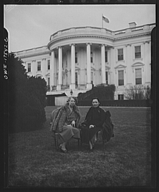 Washington, D.C. Madame Chiang Kai-shek and Mrs. Roosevelt