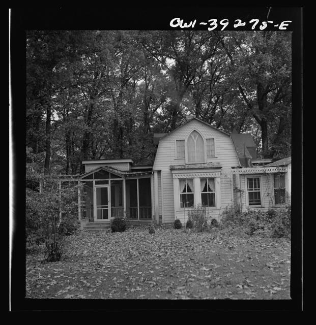 Washington, D.C. The home of Miss Norma Kale, a Woodrow Wilson High School English teacher