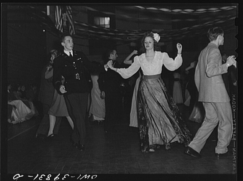 Washington, D.C. Walter Spangenberg at the regimental ball at Woodrow Wilson High School