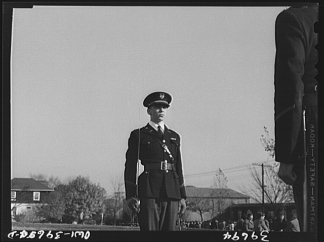 Washington, D.C. Walter Spangenberg is a captain in the cadet corps at Woodrow Wilson High School