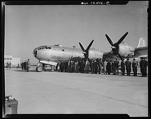 B-29 Super Fortress at Washington National Airport
