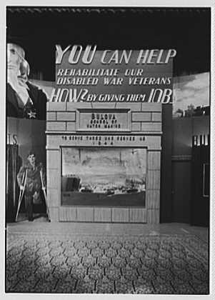 Bulova Watch Co., Exhibit, Waldorf Astoria. Center diorama, view I