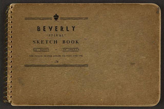 [Cover of sketchbook, volume 5]