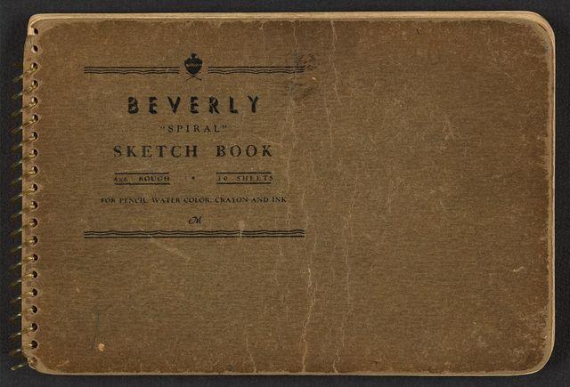 [Cover of sketchbook, volume 8]