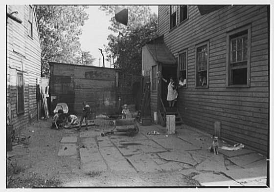 Newark Housing Authority, 57 Sussex Ave., Newark, New Jersey. Colored slums II