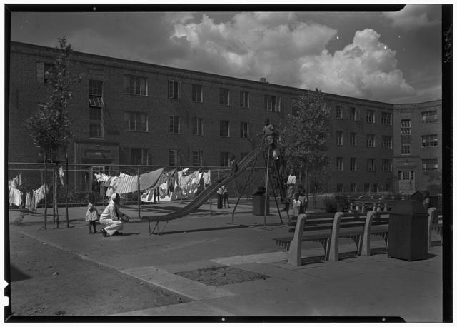 Newark Housing Authority, 57 Sussex Ave., Newark, New Jersey. Felix Fuld II