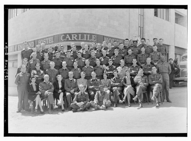 Ordination group at Carlisle House taken Ap. 6, '44
