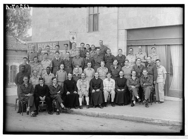 Ordination group at church army. Nov. 10, 1944