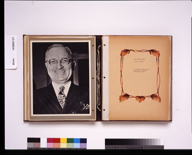 """The haberdasher--Harry Truman--He sulked because she called Mrs. Truman """"Overtime Bess"""""""