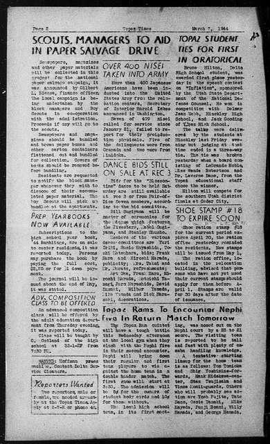 Topaz times (Topaz, Utah), March 7, 1944